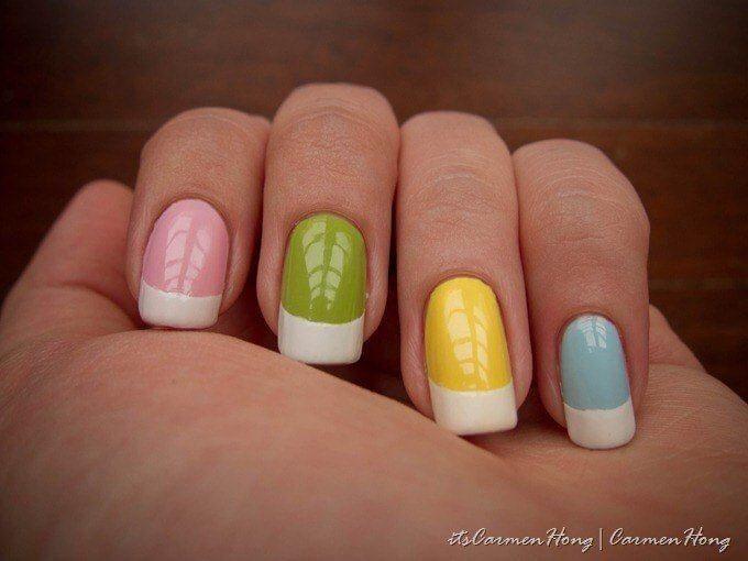 Las 25 mejores ideas sobre color de manicura franc s en for Decoracion unas shellac