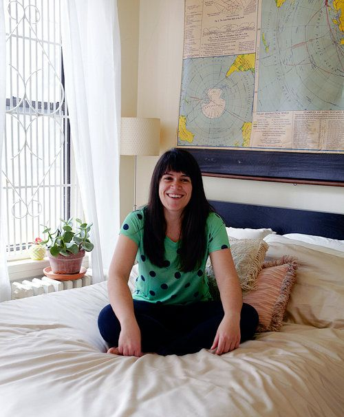 At home with the star of Comedy Central's Broad City, Abbi Jacobson (on Design*Sponge)