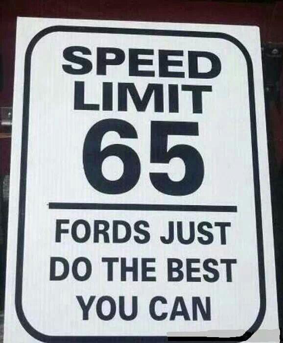 Ford joke                                                                                                                                                     More