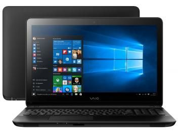 "Notebook Vaio Fit15F Intel Core i3 - 4GB 1TB LED 15,6"" Windows 10"