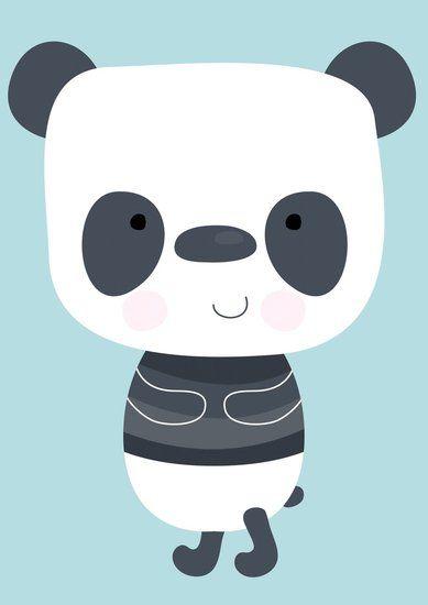 #Poster met #Panda #kinderkamer #babykamer   Dreumes enZo Kinderwinkel