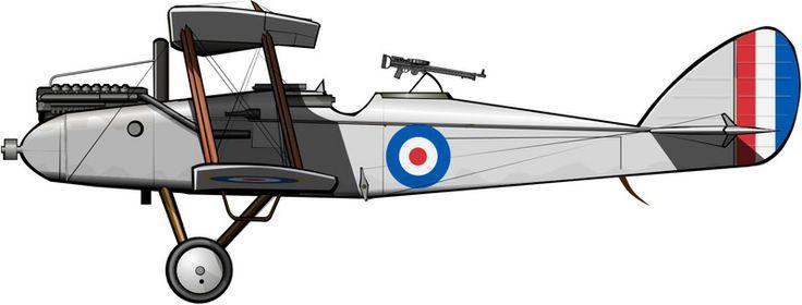 DH.9 de la aviación sudafricana a comienzos de la década de 1920, todavía con las insignias británicas.