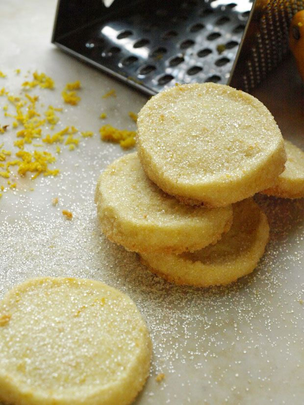 Lemon Shortbread Cookies Recipe | Recipes: bars, brownies, cookies et ...