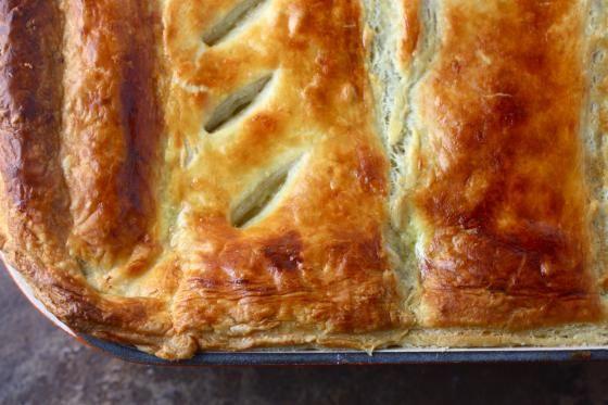 sadie + stella: S+S chow: chicken pot pie with puff pastry crust