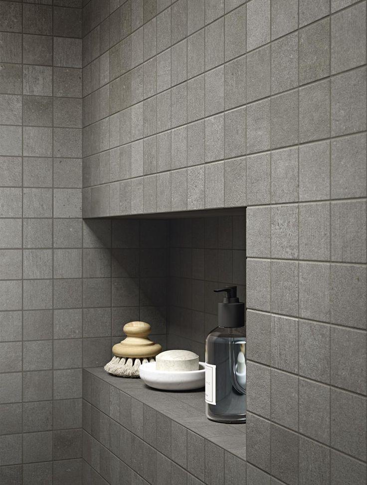 #Ragno #Studio #Mosaik Antracite 1,5x1,5 30x30 cm R4QV | Feinsteinzeug | im Angebot auf #bad39.de 307 Euro/qm | #Mosaik #Bad #Küche