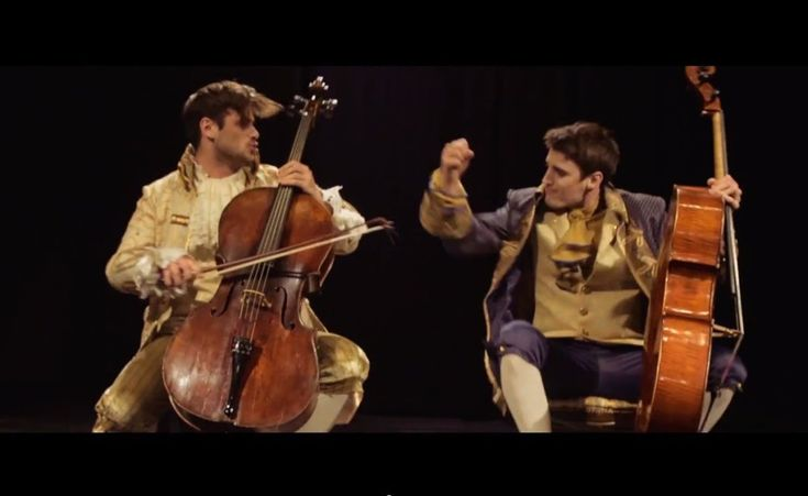Too brilliant for words! 2CELLOS - Thunderstruck [OFFICIAL VIDEO] - Lawrence Hilton