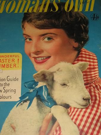 WOMANS OWN magazine, March 29 1956 issue for sale. FICTION, FASHION, HOME. Birthday gifts from Tille