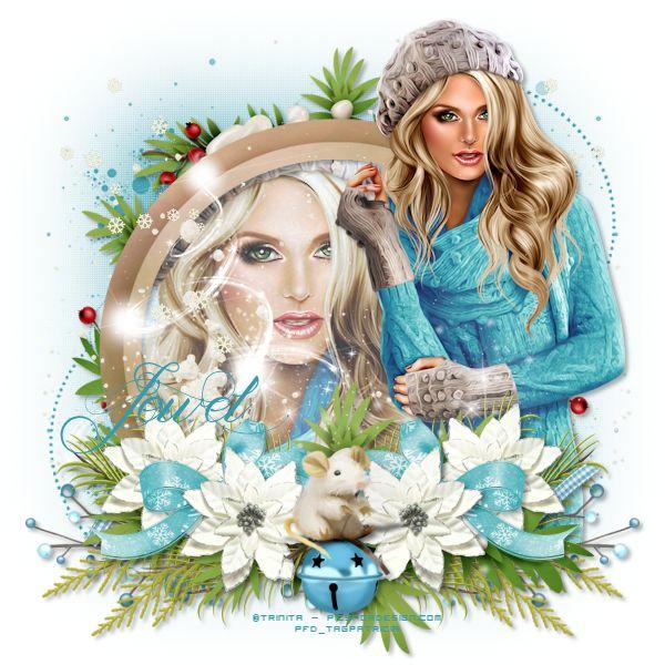 Délire2scrap Tutorials: FTU - Frozen Fairies