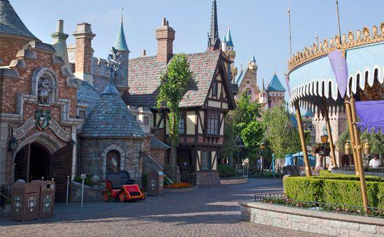 Fantasyland at Disneyland Park  tami@goseemickey.com