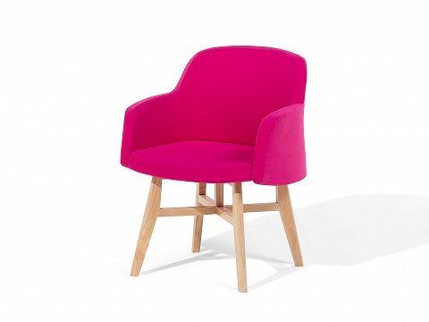 Fauteuil roze - oorstoel - relaxfauteuil - tv-stoel - stoffen fauteuil - YSTAD_608569