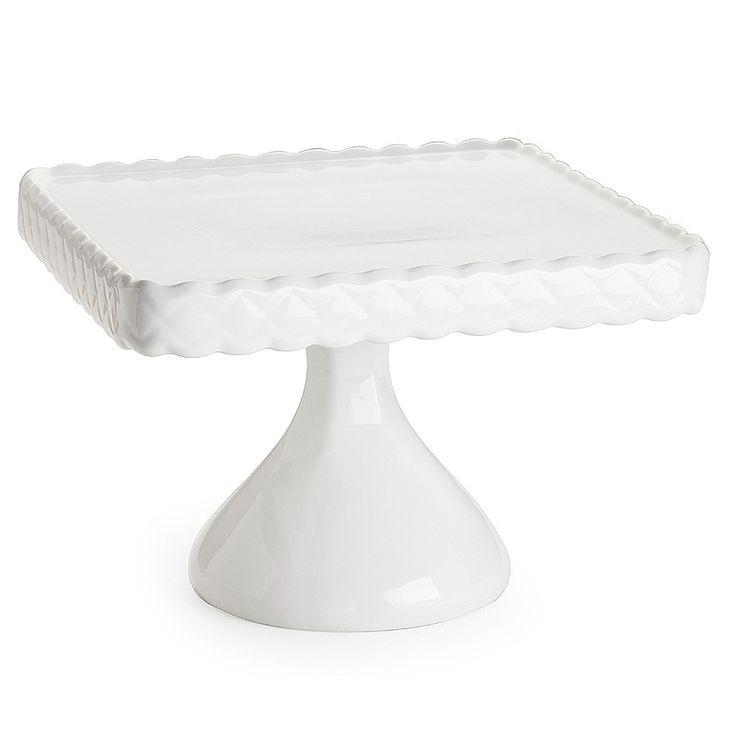 gorgeous white cake stand
