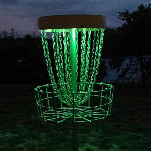 Set of 2 LED Lights for Disc Golf Basket, Multi Colored, Remote Controlled, Waterproof, Basket Not Included GlowCity http://www.amazon.com/dp/B00XXIN2OM/ref=cm_sw_r_pi_dp_NUXMvb0KSV0JT