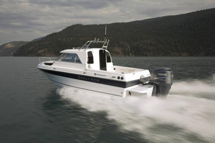 New 2012 Campion Boats 622SD BRA Explorer Pilot House Boat