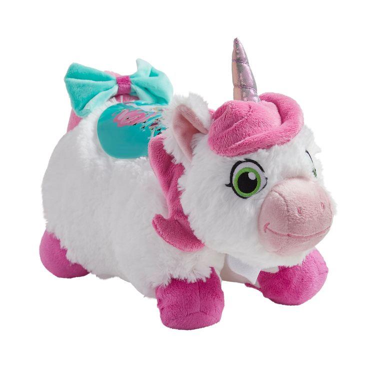 Pillow Pets Nickelodeon Nella The Princess Knight Trinket Plush Sleeptime Lite Affiliate Nella Ad Animal Pillows Unicorn Pillow Pet Soft Stuffed Animals