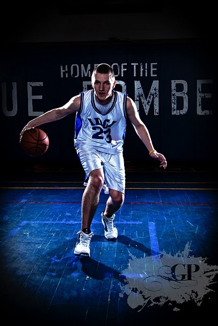 Sports portraits, IDCI basketbal team