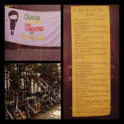 Cath's blog: Studentdemonstrasjoner - og Ana Tijoux