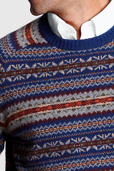 14 best Fair Isle/Nordic images on Pinterest | Fair isle sweaters ...