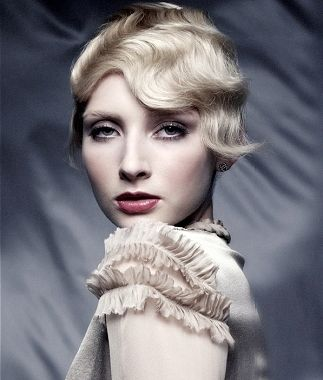 Flapper Hairstyles flapper retro hairstyle Party Hairstyles 2013 For Women