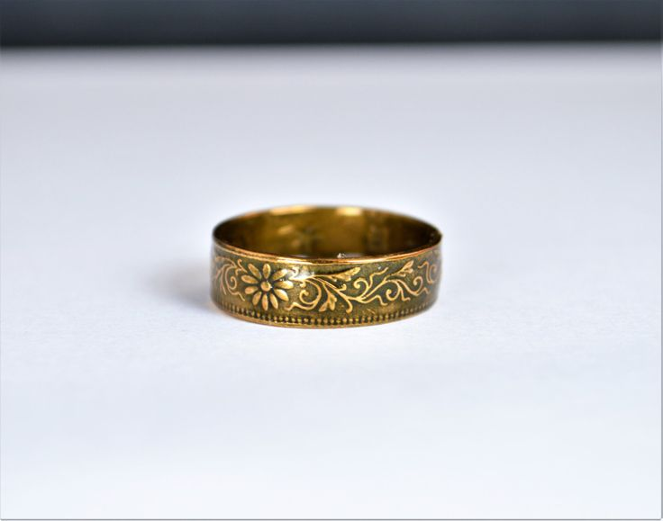 Bronze Ring, Yellow Ring, Japanese Ring, Coin Ring,  Japanese Coin, Japanese Jewelry, Coin Rings, Japanese Art, Coin Art, Japanese Coin Ring by Alaridesign on Etsy https://www.etsy.com/listing/494492877/bronze-ring-yellow-ring-japanese-ring