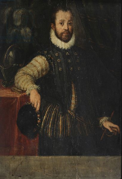 Portrait of a Nobleman of the Gonzaga, c.1550-1580 (oil on board). By workshop of Fermo di Stefano Ghisoni