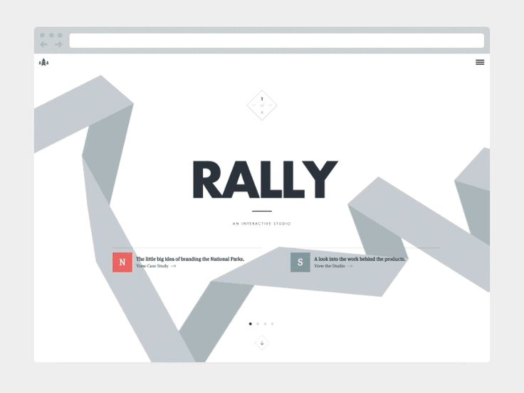 New Rally Site!  http://beta.rallyinteractive.com  We're still working out some bugs and kinks before pushing it to our full url but it's here!  HUGE Thanks to our in-house development team: Wes Pe...