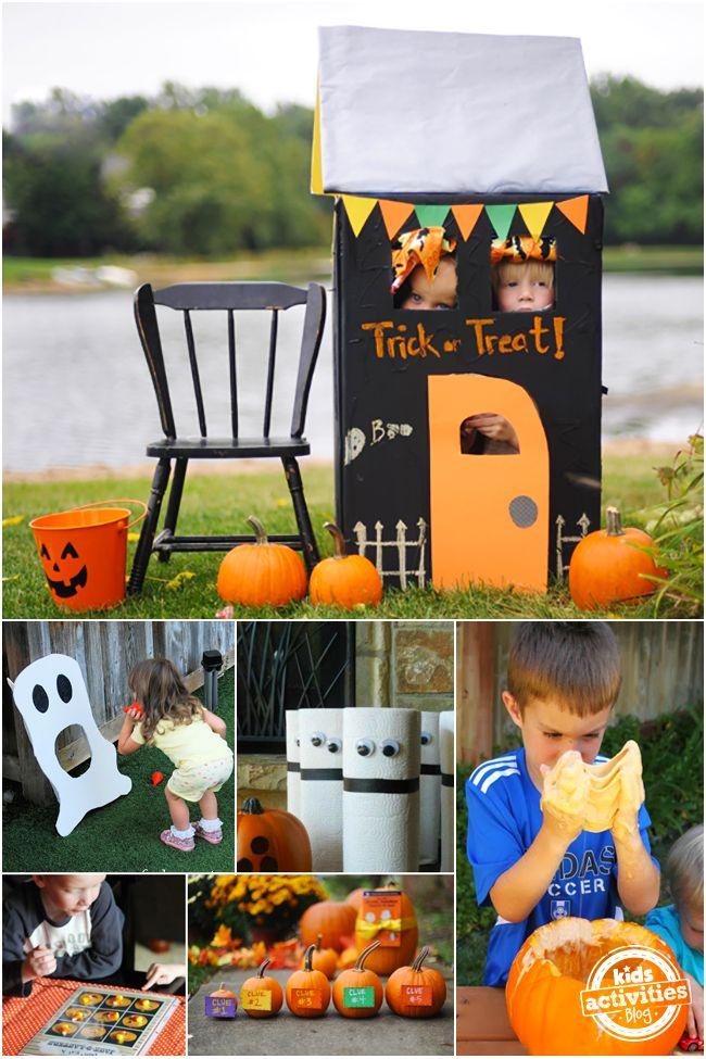 Celebrate Silliness! 28 Of The Ultimate Halloween Games For Kids @hollyhomer
