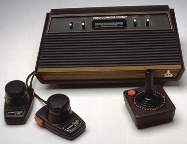 My very first gaming system was an Atari.  I use to play Frogger, Centipede, and Pong until I thought I would drop.  Ah, the good old days.