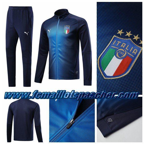 online shop uk cheap sale sports shoes Survetement Puma Pas Cher Chine - Veste Italy Bleu Marine ...