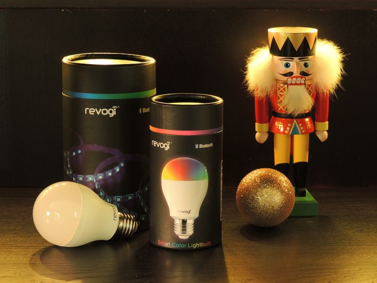Creative Smart Home Products --- Revogi Smart Light Bulb & Smart Light Strip. A good choice for a gift--- For decoration,for fun and for life.
