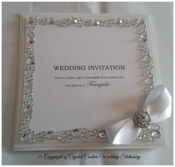 Crystal Couture Wedding Invitations: 19 Best Images About Inbjudningar On Pinterest