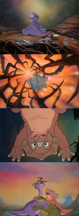 The Land Before Time. Throwback to my little self who was obsessed with this movie.