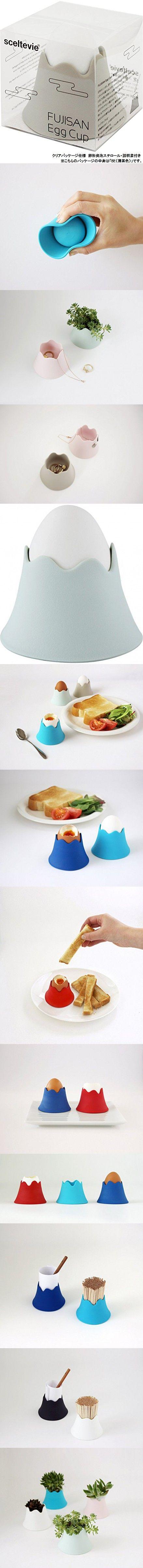 Fuji Egg cup FUJISAN Egg Cup L-BL ( celadon color)