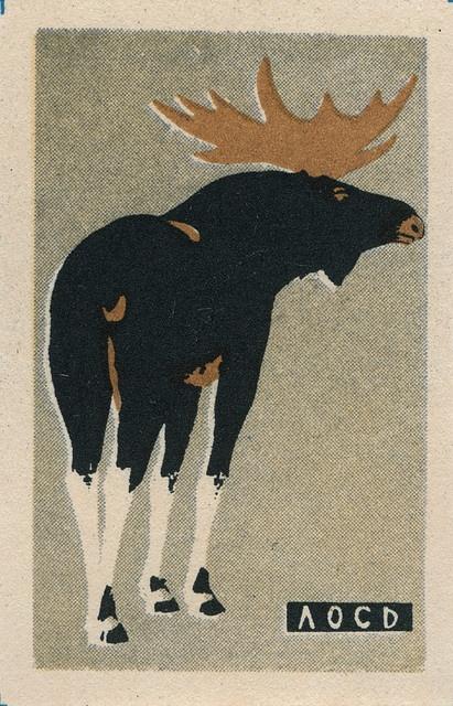 Moose: Moo Russian, Russian Matchbox, Thyme Russian, Graphics Design, Vintage Matchbox, Vintage Russian, Matchbox Labels, Matchbox Art, Matchbox Graphics