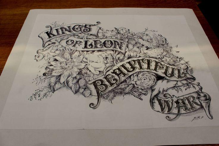 Kings of Leon – Beautiful War Cover Art « David Smith – Traditional Ornamental Glass Artist