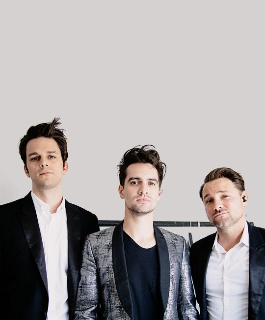 Dallon Weekes, Brendon Urie, Kenny Harris; Panic! At The Disco