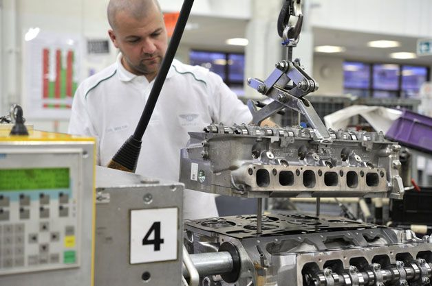 Bentley shifting W12 engine manufacturing to United kingdom - http://www.justcarnews.com/bentley-shifting-w12-engine-manufacturing-to-united-kingdom.html