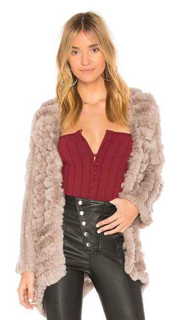 Tilda Dyed Rex Rabbit Fur Jacket by Heartloom. Fur: 100% genuine dyed rex rabbit furContrast: 100% acrylic. Fur Origin: China. Dyed red rabbit fur. Front hook and eye closure. HEAR-WO83. 901V17A. Heartloom is a New York based brand that combines East Coast sophistication with a laid ... #heartloom #jackets #outerwear