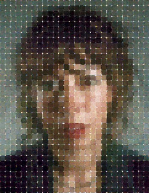 Chuck Close, Cecily (2012), via Artsy.net