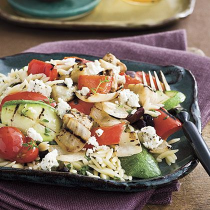 Mediterranean Orzo | Recipe | Orzo Recipes, Orzo and Grilled ...