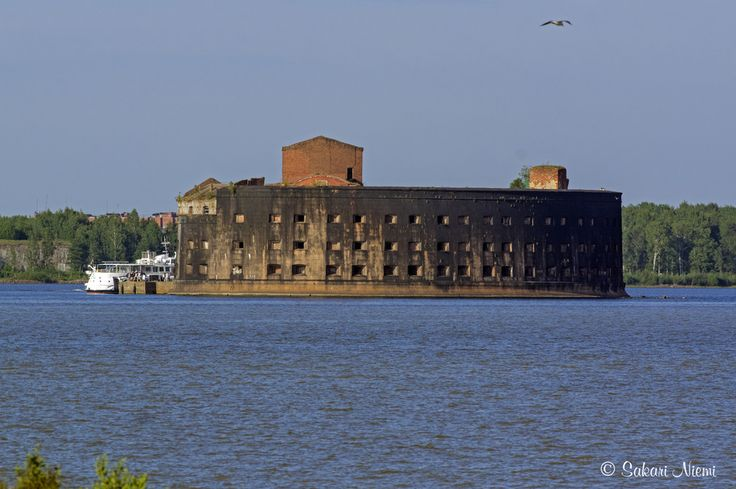 RU_150623 Venäjä_0228 Kronstadtin Aleksanterin linnoitus Leningradin oblastissa