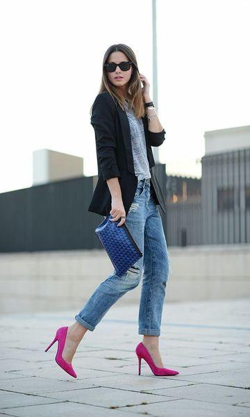 Para as mulheres que gostam de conforto e muito estilo, a Calça Boyfriend é uma ótima opção! Jeans, então super fácil de combinar e moderna, ela deixa...