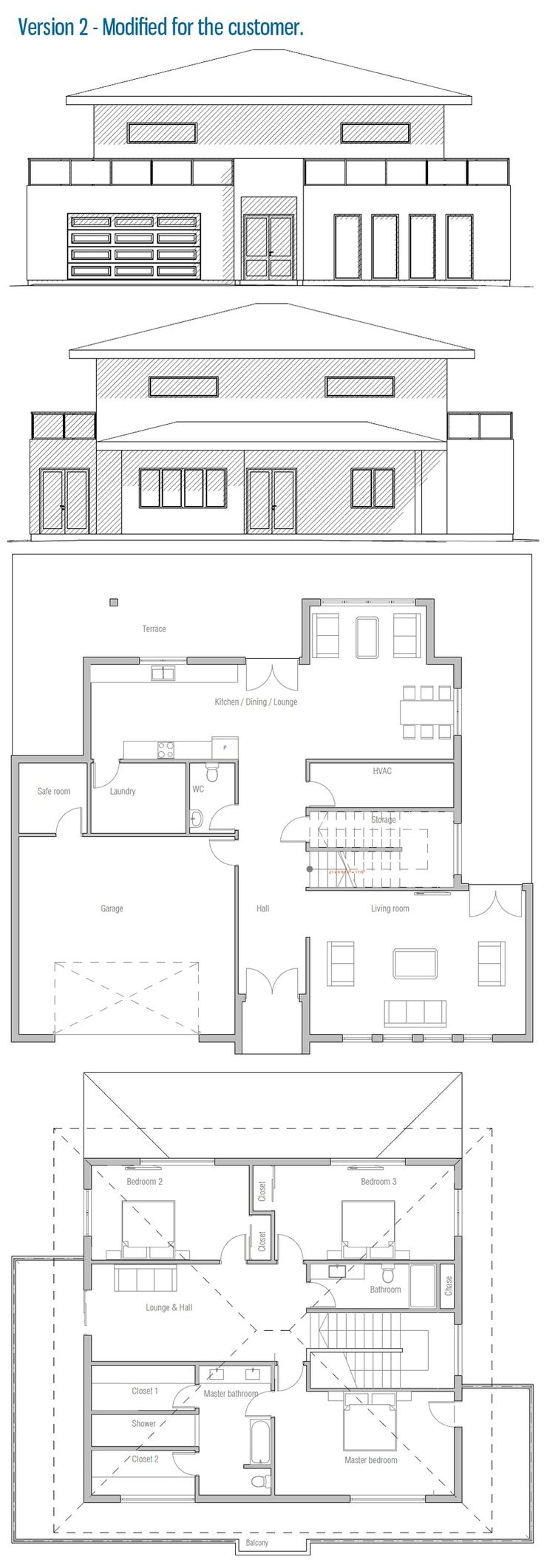 Modified House / Home Plan
