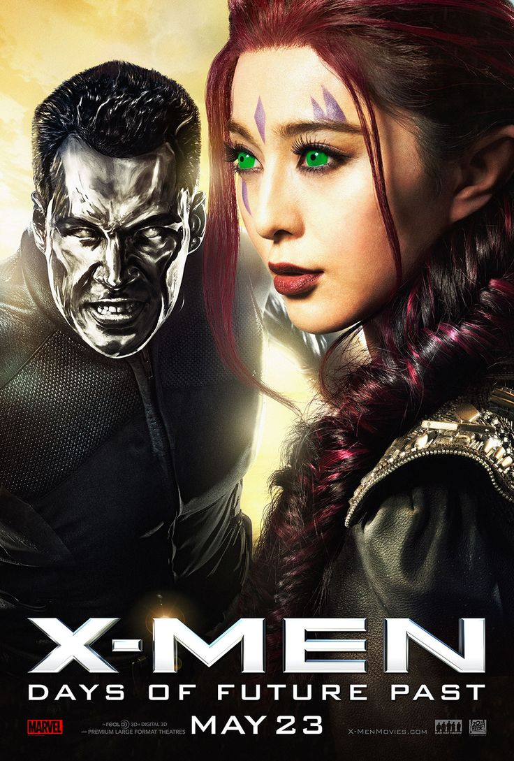 Blink and Colossus in the latest poster are just two of the new mutants in X-Men: Days of Future Past.