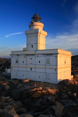 Capo Testa lighthouse [1845 - Santa Teresa Gallura, Sardinia, Italy]