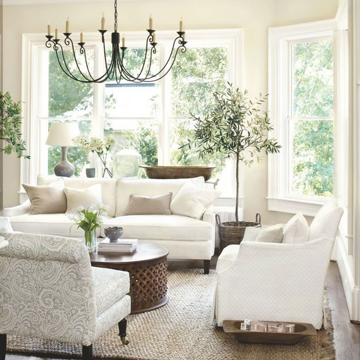 Living Room Furniture Casual whites but classy