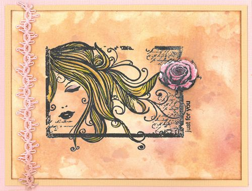 Stamp-it Australia: 4742F In a Dream, 3318B Three Wishes - Card by Susan