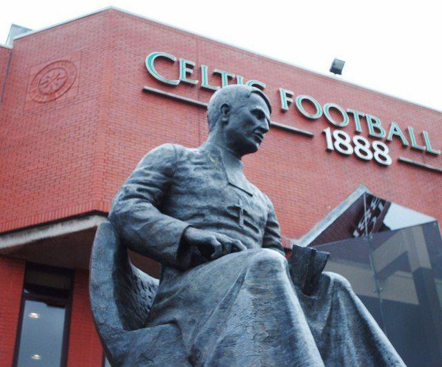 FileBrother Walfrid Statue Celtic Park