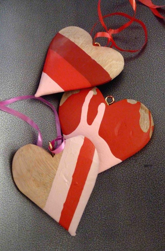 Plascon Do It Yourself Valentine's Day Hearts; Image Credits: Production Maciek Dubla & Chantel Hans, Photography Maciek Dubla