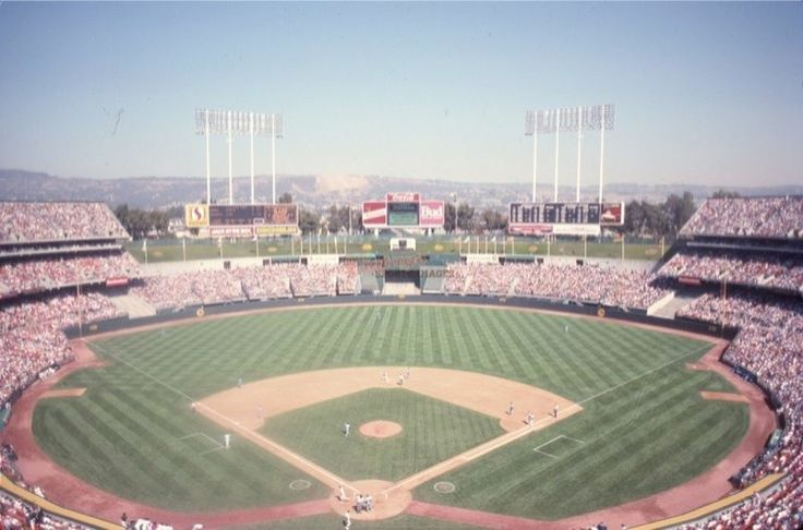 Just can't get enough of this photo... Oakland coliseum