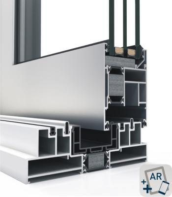 Detalle del sistema 4600 Corredera Elevable HI RPT